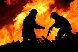 Запорожье: в пламени пожара сгорели два человека