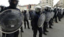 У Брюсселі поліція затримала десятки учасників акції протесту