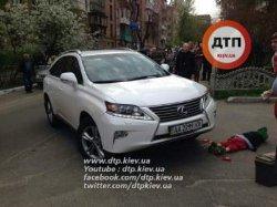 Страшное ДТП в Киеве: ребенок, которого переехал Lexus, умер в реанимации