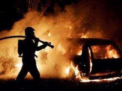 Херсон: в автомобиле заживо сгорел мужчина