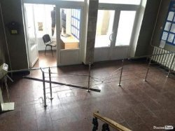 На Волыни разгромили офис таможни