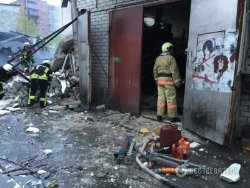 Взрыв в гаражном кооперативе в Киеве: есть погибший