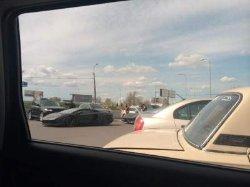 В Киеве видели роскошный кортеж сына нефтяного магната