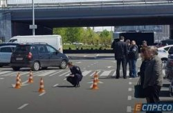 ЧП в Киеве: на парковке стреляли в мужчину