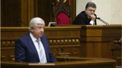 Порошенко отправил Шокина в отставку