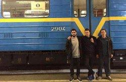 Киевляне смогут увидеть в метро необычный поезд