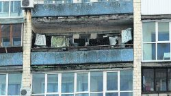 В Киеве придумали, как бороться с бельем на балконах