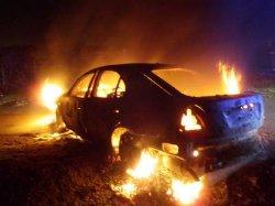 Гибель жителя Херсона в сгоревшем автомобиле оказалась убийством