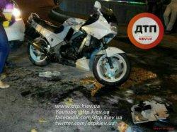 Масштабное ДТП в Киеве: есть пострадавший