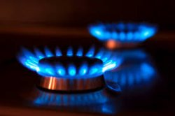 Цена российского газа упала на 56%