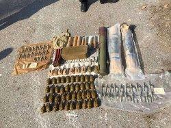 Сотрудники СБУ обнаружили под Одессой «хранилище» боеприпасов