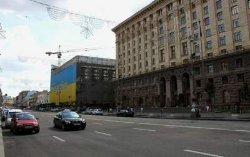 Движение в центре Киева перекрыли на майские праздники