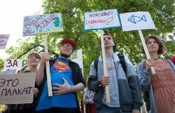 Веселый абсурд: по улицам Одессы прошла монстрация