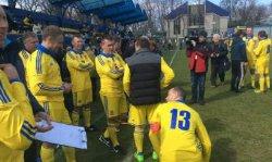 Журналисты со счетом 5:2 обыграли нардепов в футбольном матче