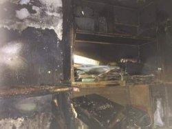 Пожар в общежитии Днепропетровска: 10-летний ребенок в больнице