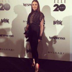 Оксане Федоровой досталось от критиков за неудачный наряд