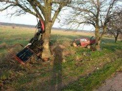 ДТП под Мелитополем: от удара легковушку разорвало на части