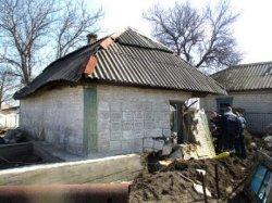 Обвал стены в доме на Полтавщине: один погибший