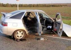 ДТП на Черниговщине: от удара водителя раздавило конструкциями автомобиля