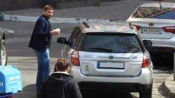 Нардеп Парасюк похвастался новеньким Subaru