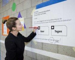 В Нідерландах завершено попередній підрахунок результатів референдуму