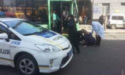 Одесские полицейские на патрульном автомобиле сбили женщину