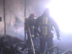 В центре Хмельницкого горела жилая многоэтажка