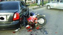 ДТП в Кировограде: от удара девушка перелетела через крышу автомобиля