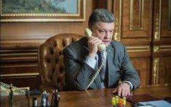Порошенко позвонил по телефону премьер-министру Нидерландов