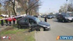 Масштабная авария в Киеве: погиб мужчина