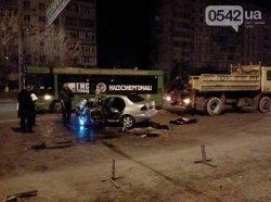 Смертельное ДТП в Сумах: иномарка протаранила автобус
