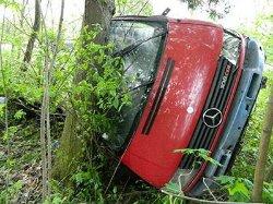 ЧП на Тернопольщине: автобус с детьми сорвался в пропасть