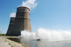 На Запорожской АЭС отключили очередной энергоблок