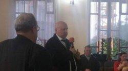 Турчинов поздравил с юбилеем своего пастора