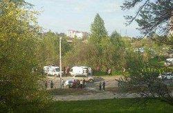 ЧП под Львовом: под весом перевернувшегося BMW погибли два человека