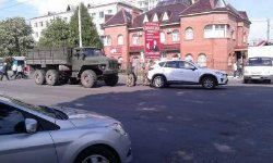В Ривне пьяные военные попали в аварию