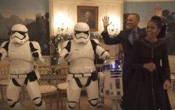 Барак Обама станцевал с имперскими штурмовиками