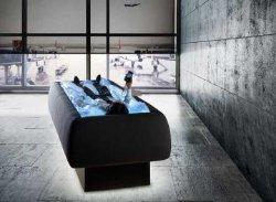 Сухой бассейн - идеальное место для релаксации