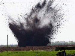 Взрыв на Харьковщине: мужчина распилил снаряд болгаркой