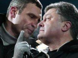 Кличко против Порошенко: война начинается