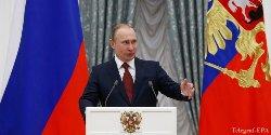 Путин в своем поздравлении с 9 мая