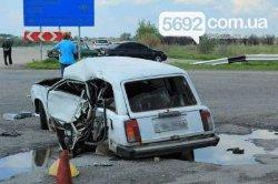 Жуткое ДТП на Днепропетровщине: погибли два человека