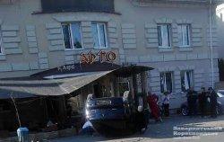 ДТП в Ужгороде: иномарка влетела в отель