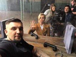 Полина Гагарина и Баста поделились кадрами со съемок совместного клипа