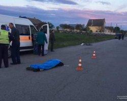 Тернопольщина: водитель иномарки насмерть сбил велосипедиста