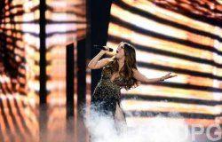 Конкурсантка Евровидения не скрывала свою беременность