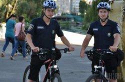 Киевская полиция объявила набор в велопатруль
