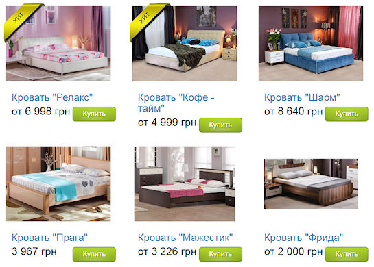 Выбираем размеры кровати