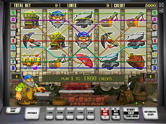 Игровые автоматы внутри крутого игрового клуба
