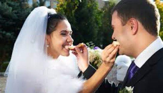 Современная традиционная свадьба в России